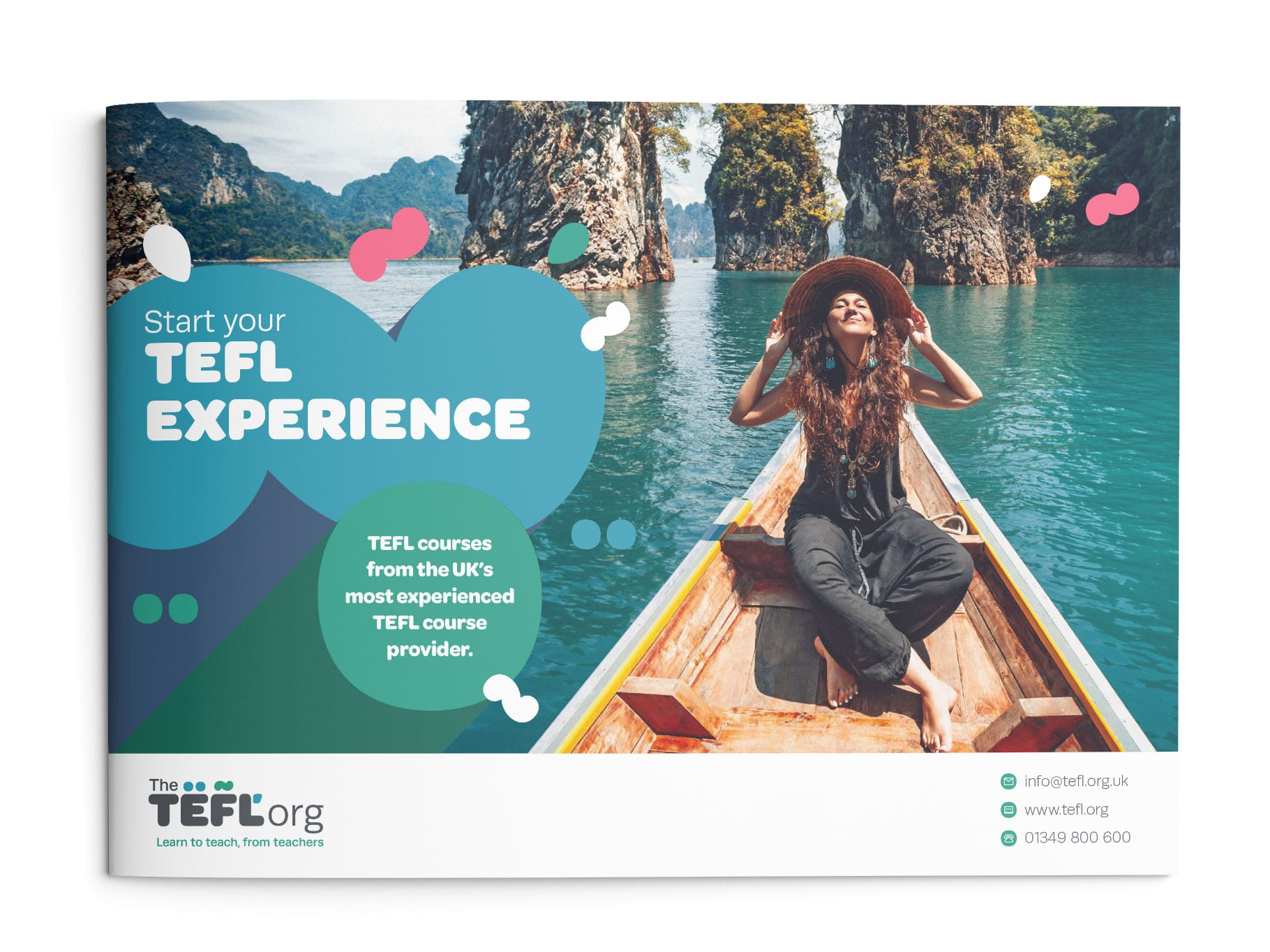 The TEFL Org Brochure front cover