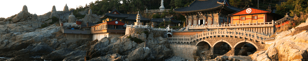 Temple in South Korea