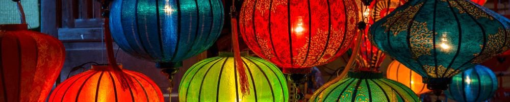 Vietnamese lanterns