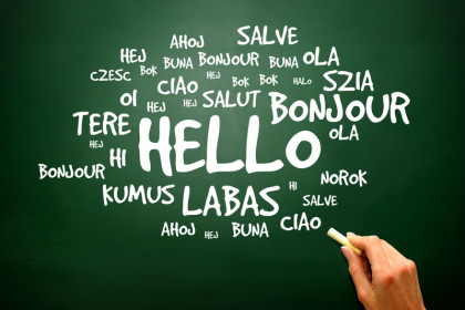 How to say hello in a foreign language
