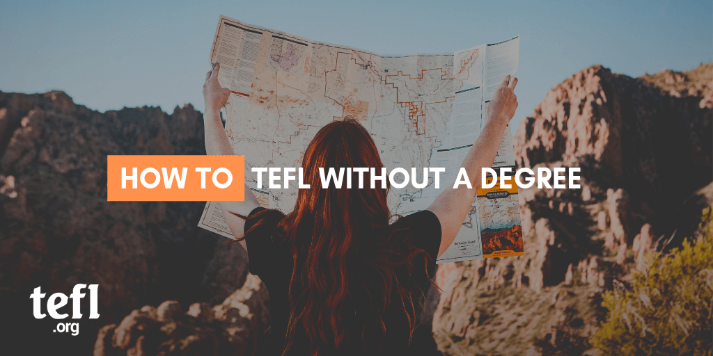 How to TEFL without a degree