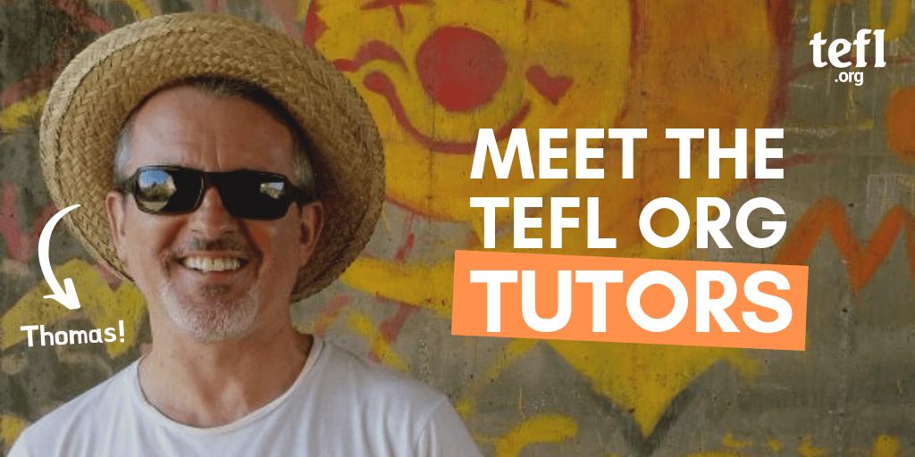 Meet the tutors - Thomas