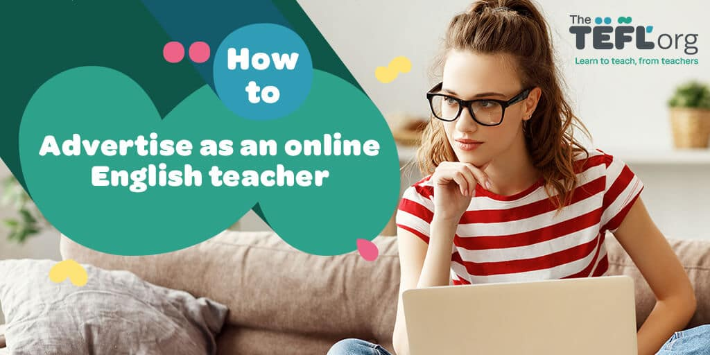 How to advertise as an online teacher