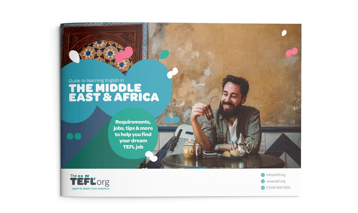 The TEFL Org Middle East and Africa Guide front cover