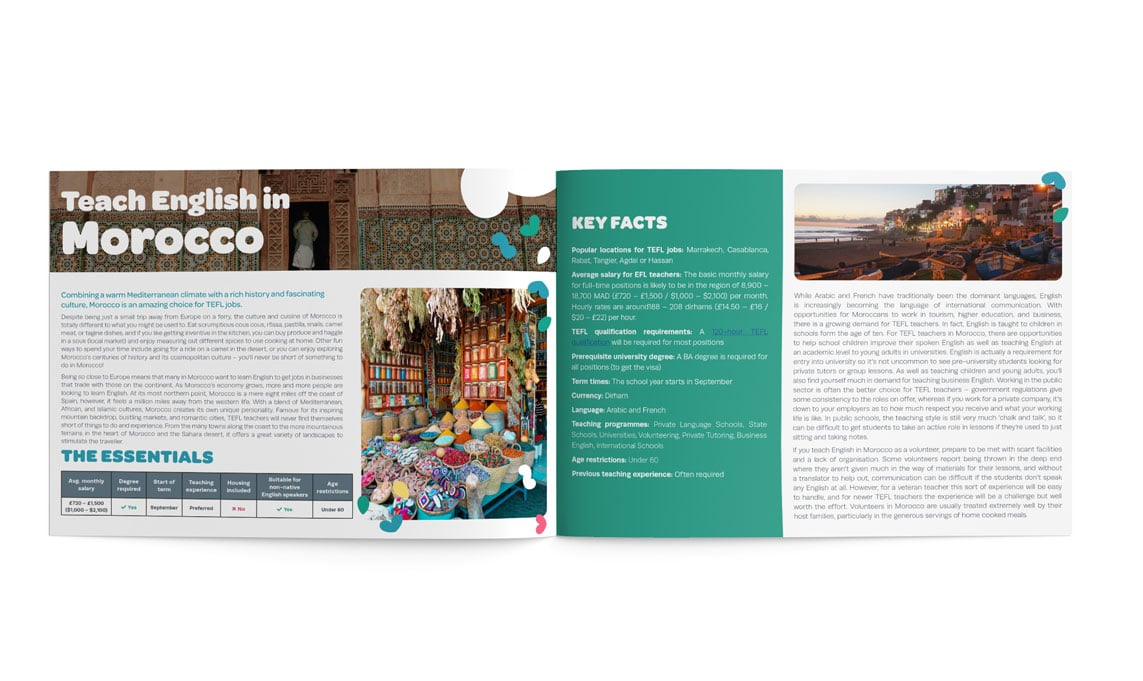 The TEFL Org MIddle East and Africa Guide inner pages
