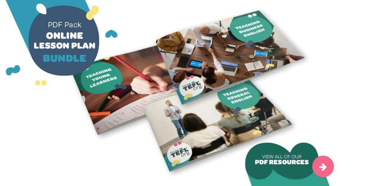 TEFL Teaching English Online PDF Bundle