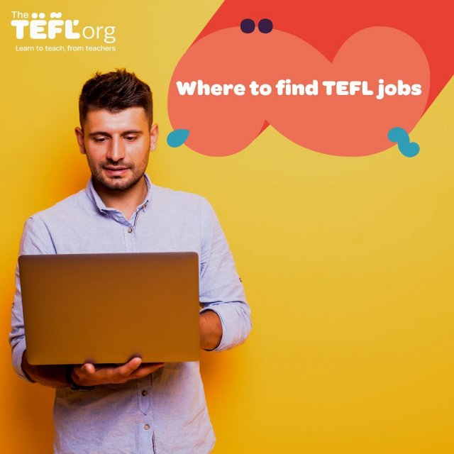 So, you're now TEFL qualified (or working towards it) and ready to start applying for TEFL jobs – but where do you look to find yourself that first teaching position?⁠⠀⁠⠀⁠⠀ ⁠⠀⁠⠀⁠⠀ With such a huge demand worldwide for EFL teachers, you can find thousands of TEFL jobs advertised online if you know where to look. 💻⁠⠀ ⁠⠀ Swipe along to see some great jobs boards to help you find that first teaching job!⁠ ➡️⁠⠀ ⁠⠀ ⁠⠀ Leave your suggestions below 👇⁠⠀ ⁠⠀ Save this post as even if you aren't looking for jobs right now, this might come in handy in the future! ⁠⠀ ⁠⠀⁠⠀⁠⠀